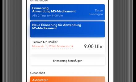 Digitale Unterstützung per App für MS-Betroffene