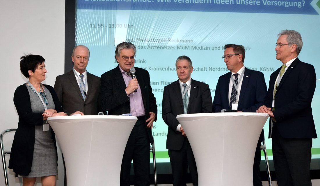 2. TELnet@NRW-Kongress: Innovationsfondsprojekte effektiv in das GKV-Versorgungssystem bringen