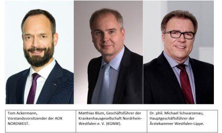 Referentenentwurf für das Digitale Versorgung Gesetz  – Stimmen aus NRW