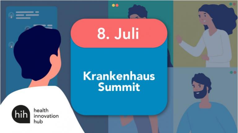 Krankenhaus Digital Summit vom hih jetzt On-Demand verfügbar