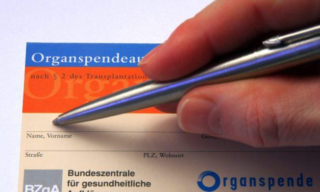 Organspende: Online-Register lässt auf sich warten